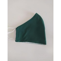 mascarilla verde oscuro