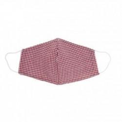 Mascarilla 100 % algodon Vichy Rojo