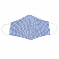 Mascarilla 100 % algodon Vichy Azul Claro